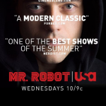 Mr Robot TV shows about hackers