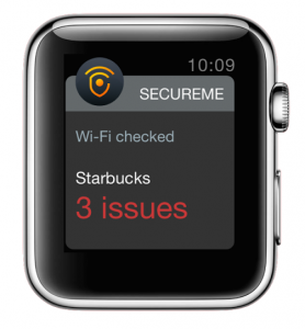 Avast SecureMe protects Apple watch