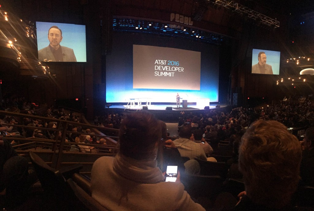 The 2016 AT&T Developer Conference took place on January 2-5 in Las Vegas, Nevada.