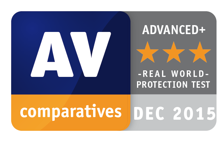Avast was awarded the title of Top Rated Product for 2015 by AV-Comparatives.