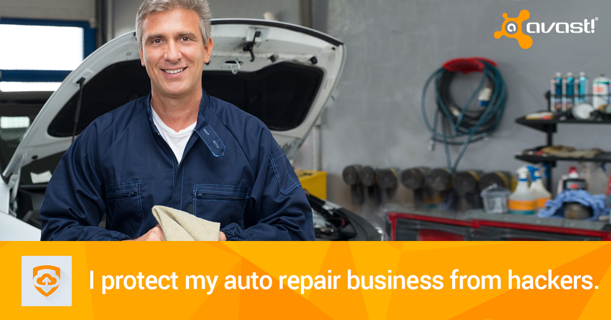 Avast for Business autoshop